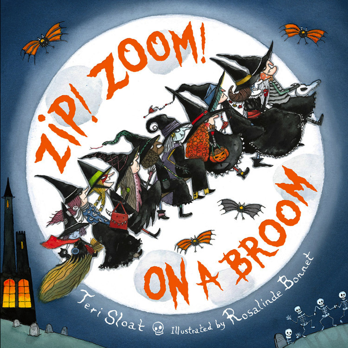 Zip! Zoom! On a Broom room on the broom big book