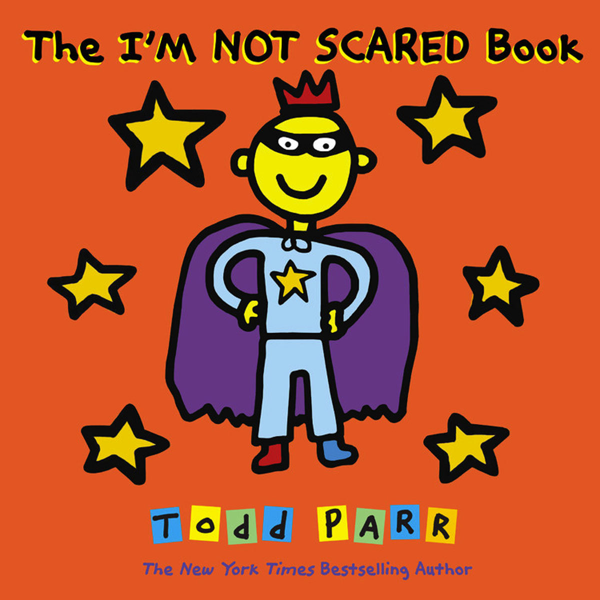 The I'M NOT SCARED Book the signature of all things