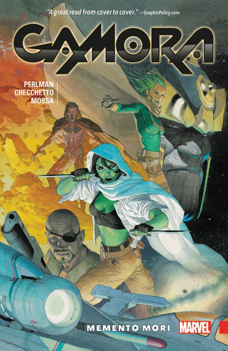 Gamora: Memento Mori a new lease of death