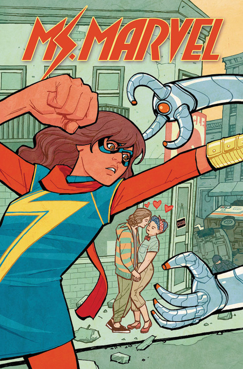 Ms. Marvel Vol. 3 selling the lower east side culture real estate and resistance in new york city