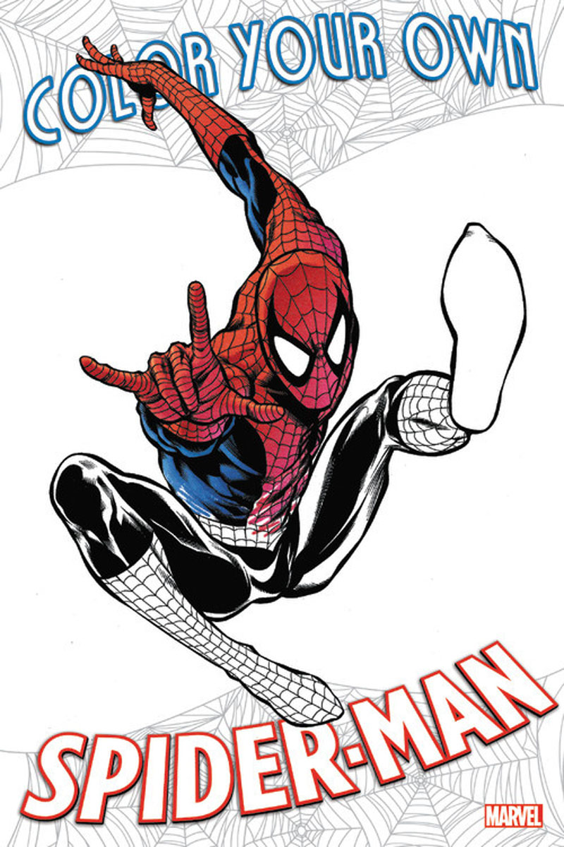Color Your Own Spider-Man i nicolson build your own boat
