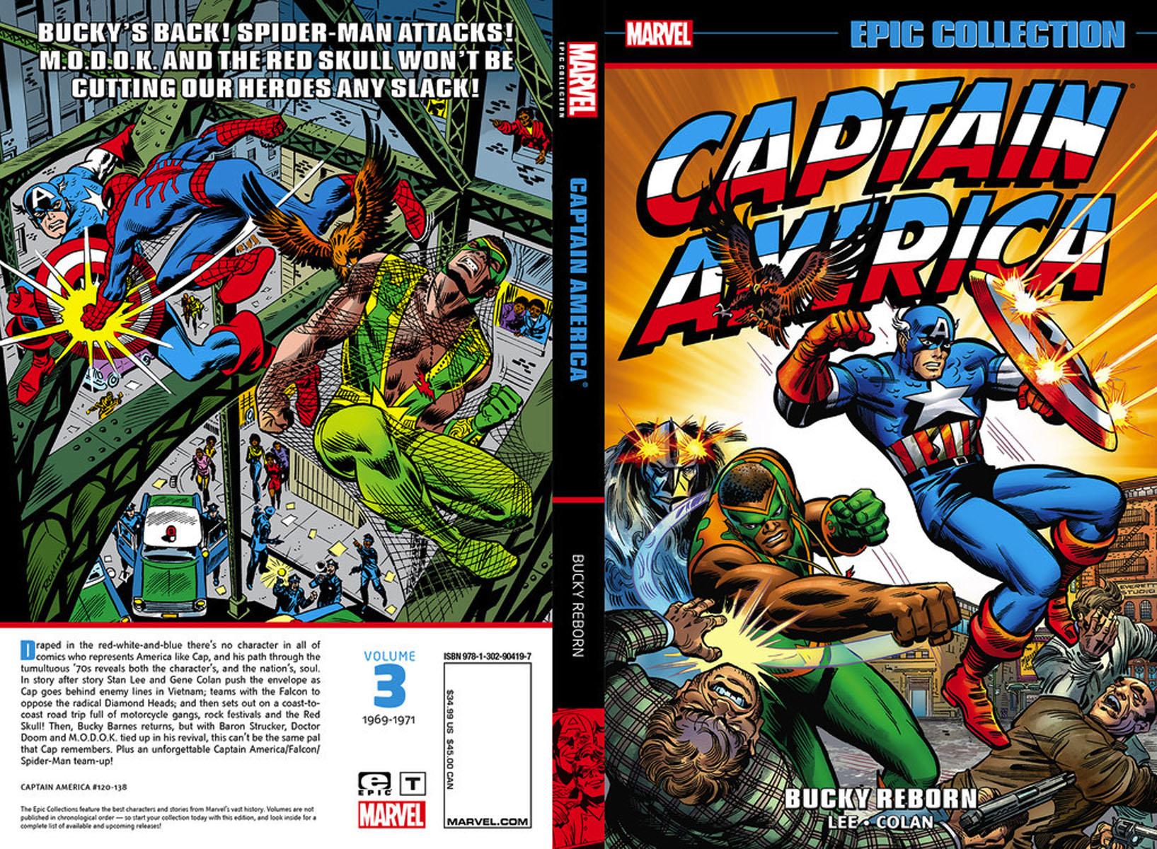 Captain America Epic Collection: Bucky Reborn avengers маска captain america цвет голубой
