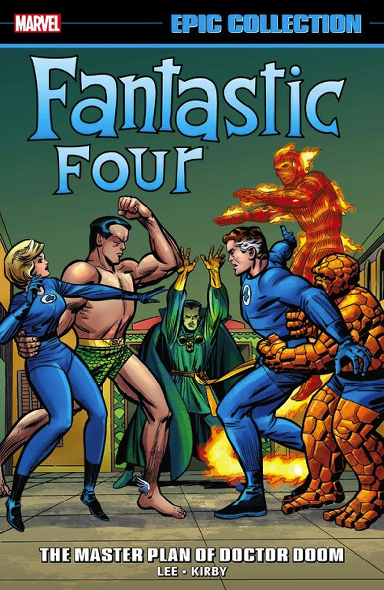Fantastic Four Epic Collection: The Master Plan of Doctor Doom four a divergent collection