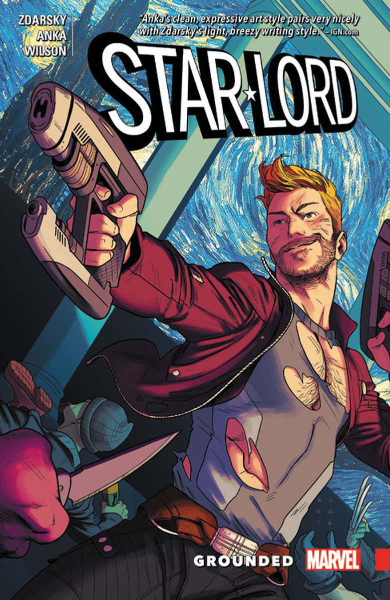 Star-Lord: Grounded b p r d hell on earth volume 8 lake of fire