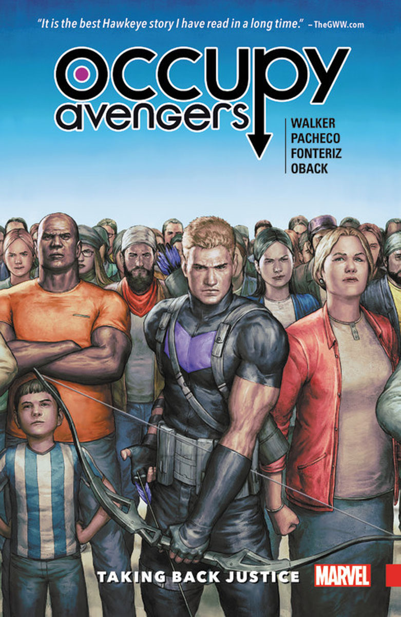 Occupy Avengers: Volume 1: Taking Back Justice uncanny avengers volume 4