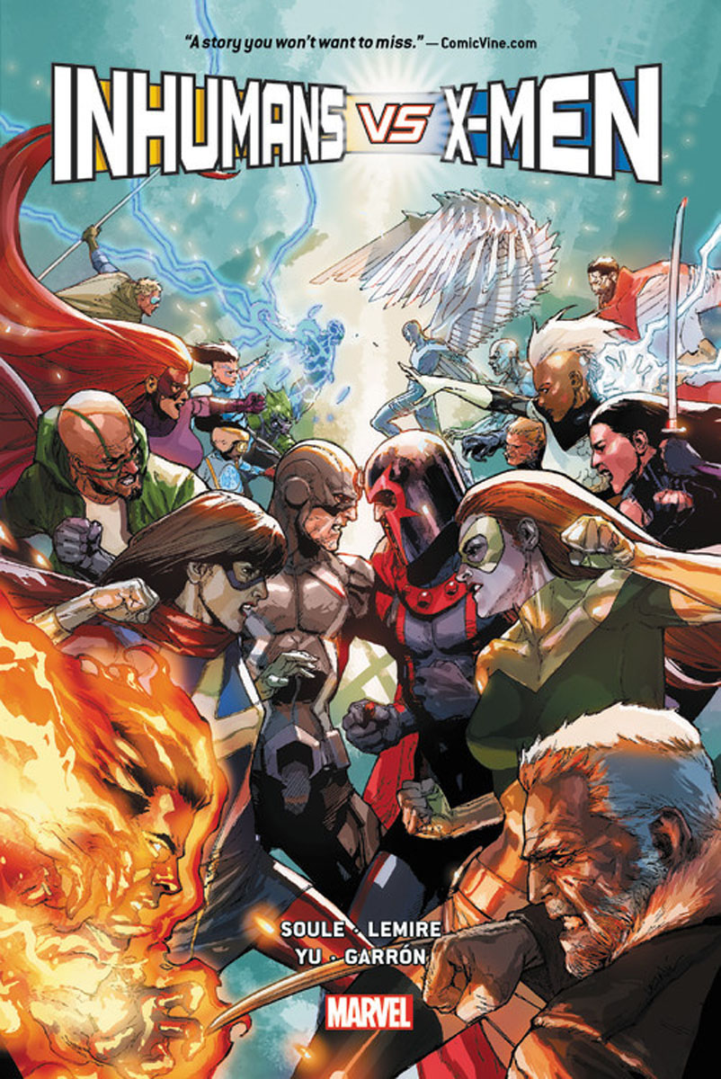 Inhumans Vs. X-Men uncanny inhumans volume 1