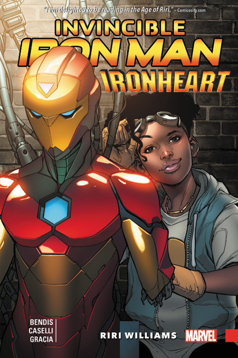 Фото Invincible Iron Man: Ironheart Vol. 1