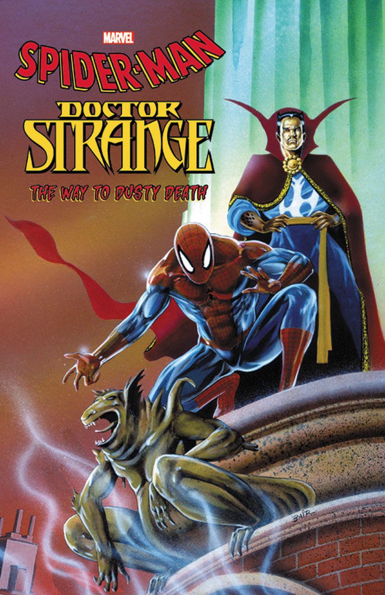 Spider-Man: Doctor Strange: The Way to Dusty Death rhyming life and death