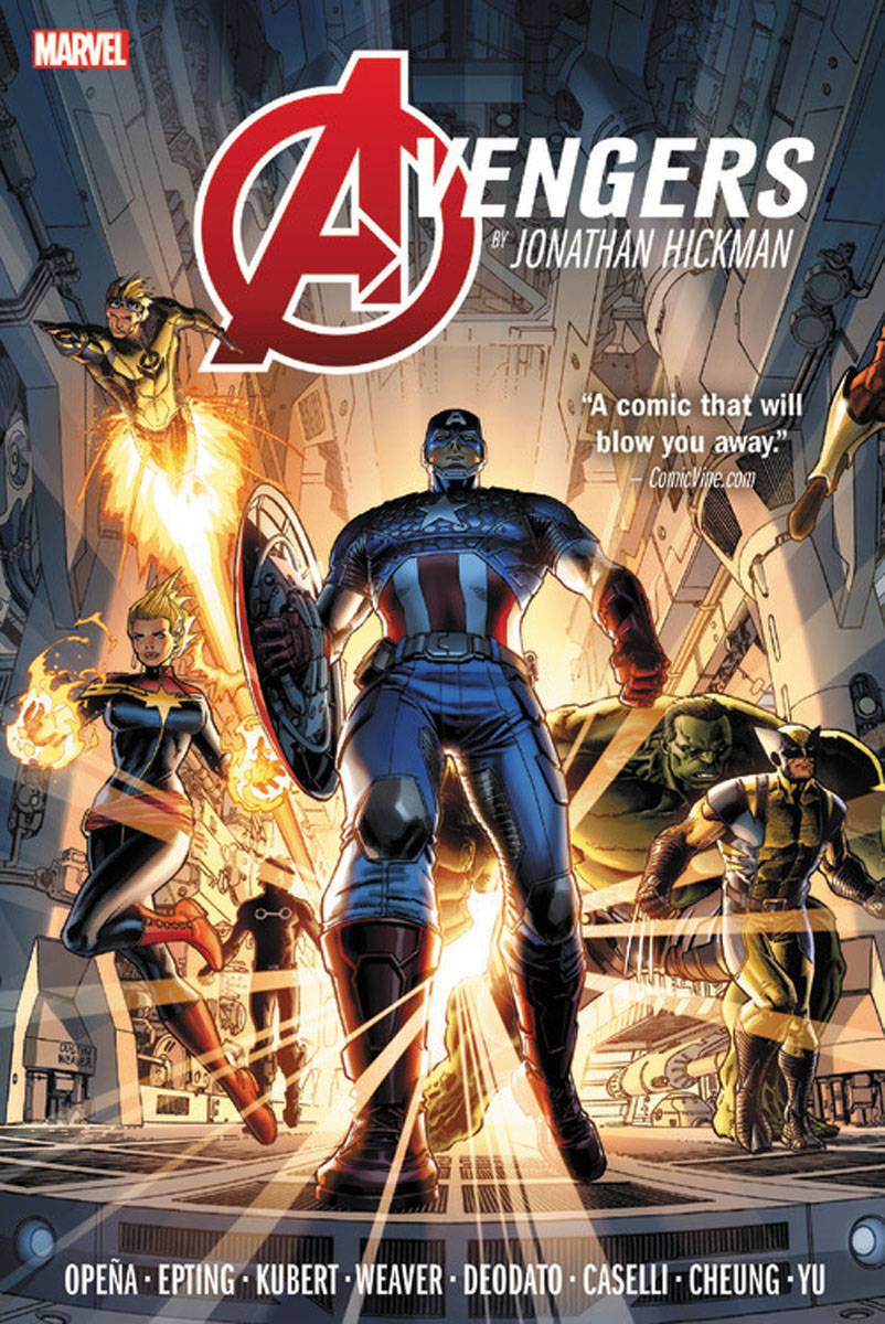 Avengers by Jonathan Hickman Omnibus Vol. 1 verne j journey to the centre of the earth