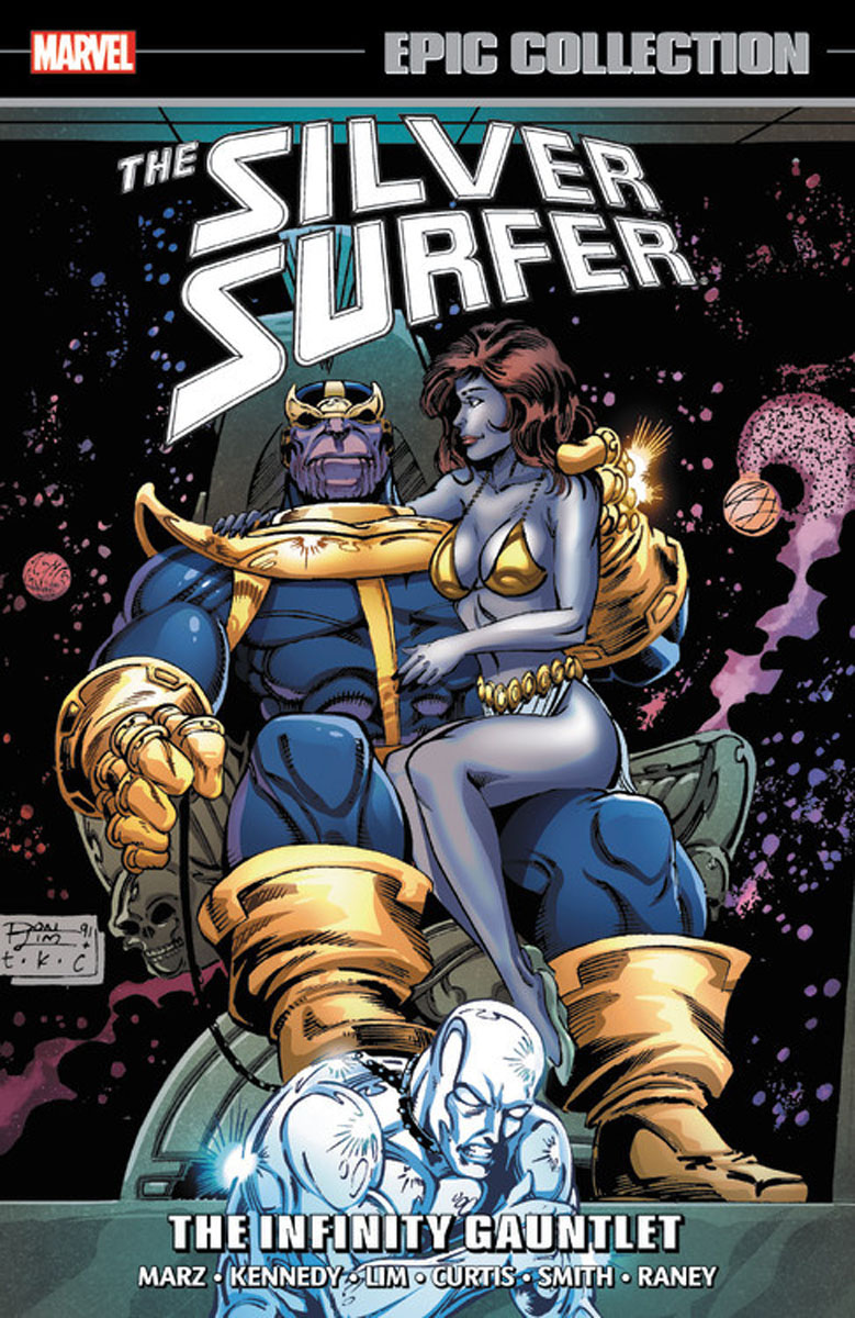 Silver Surfer Epic Collection: The Infinity Gauntlet the gauntlet