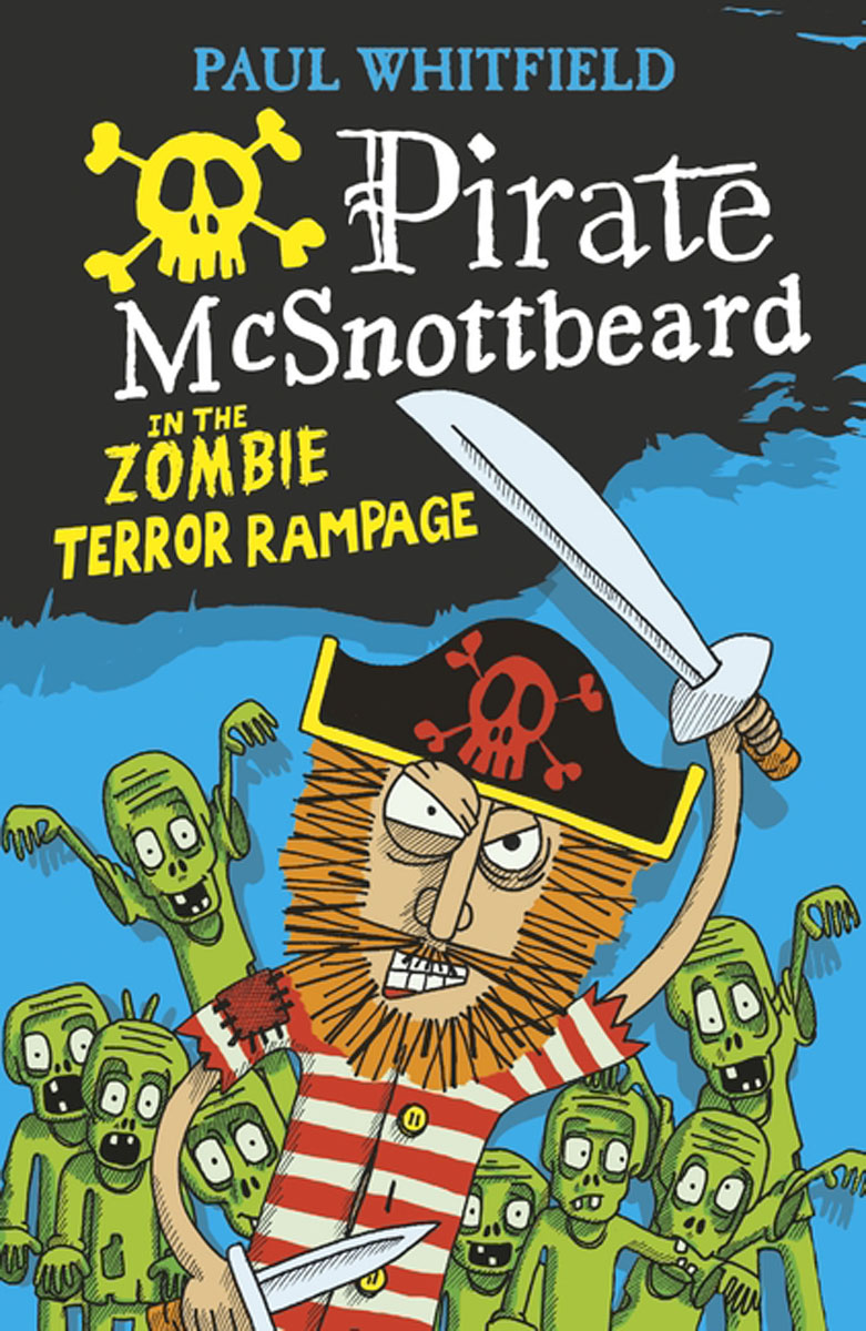 Pirate McSnottbeard in the Zombie Terror Rampage laugh out loud holiday jokes for kids