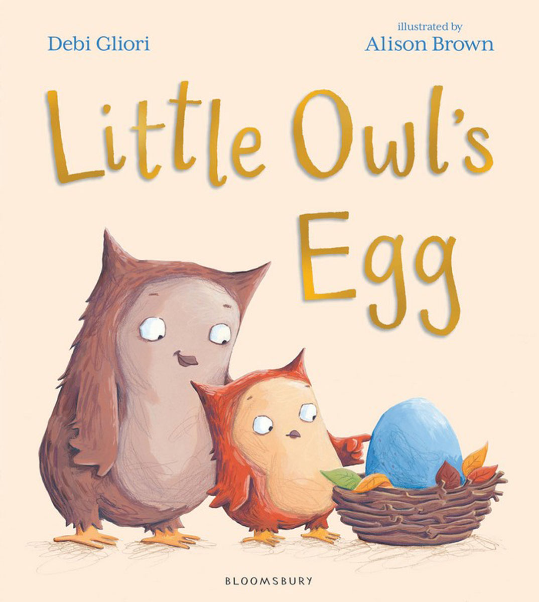 Little Owl's Egg nina stefanovich tale about littleworm book for kids