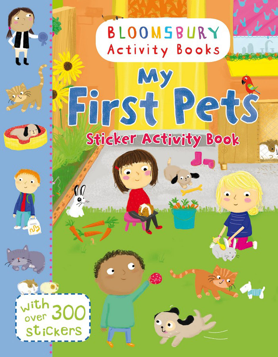 My First Pets Sticker Activity Book купить