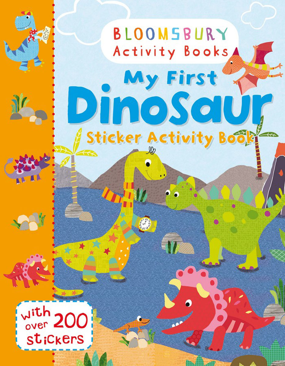 My First Dinosaur Sticker Activity Book happy holiday sticker activity book