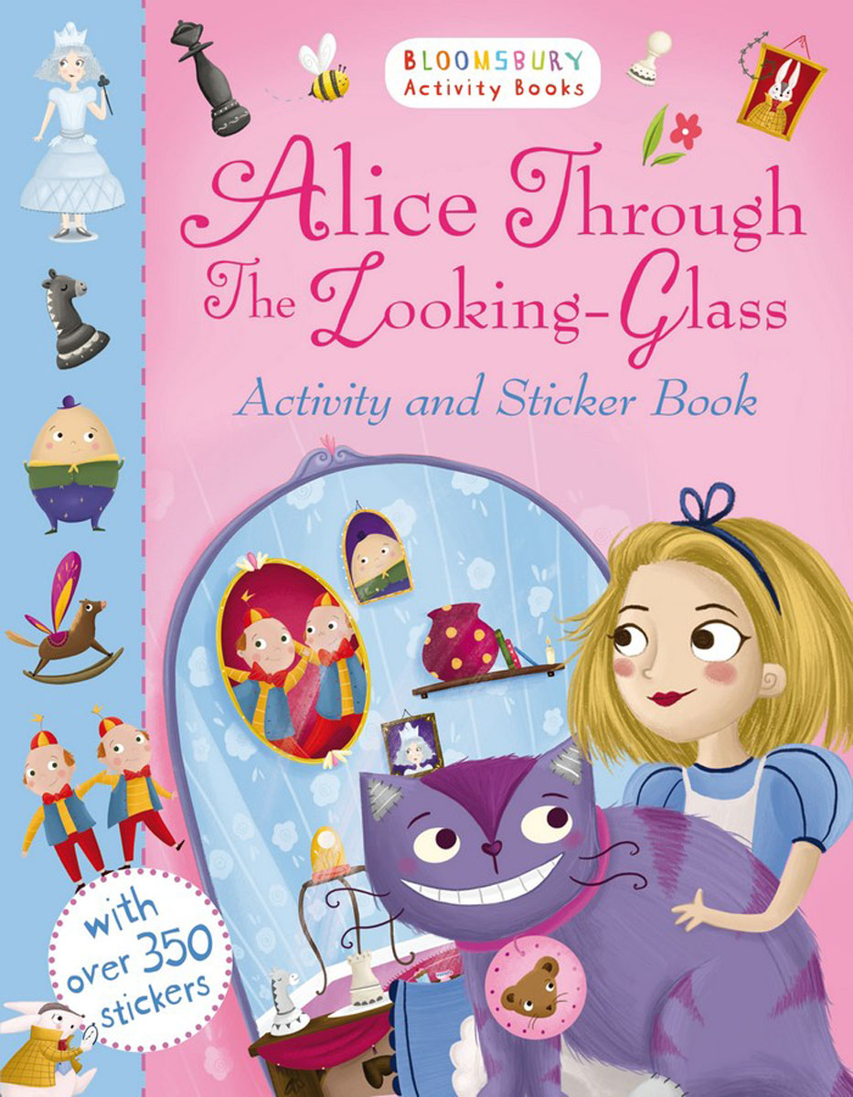 Alice Through the Looking Glass Activity and Sticker Book коллекционная кукла alice through the looking glass alice 29 см