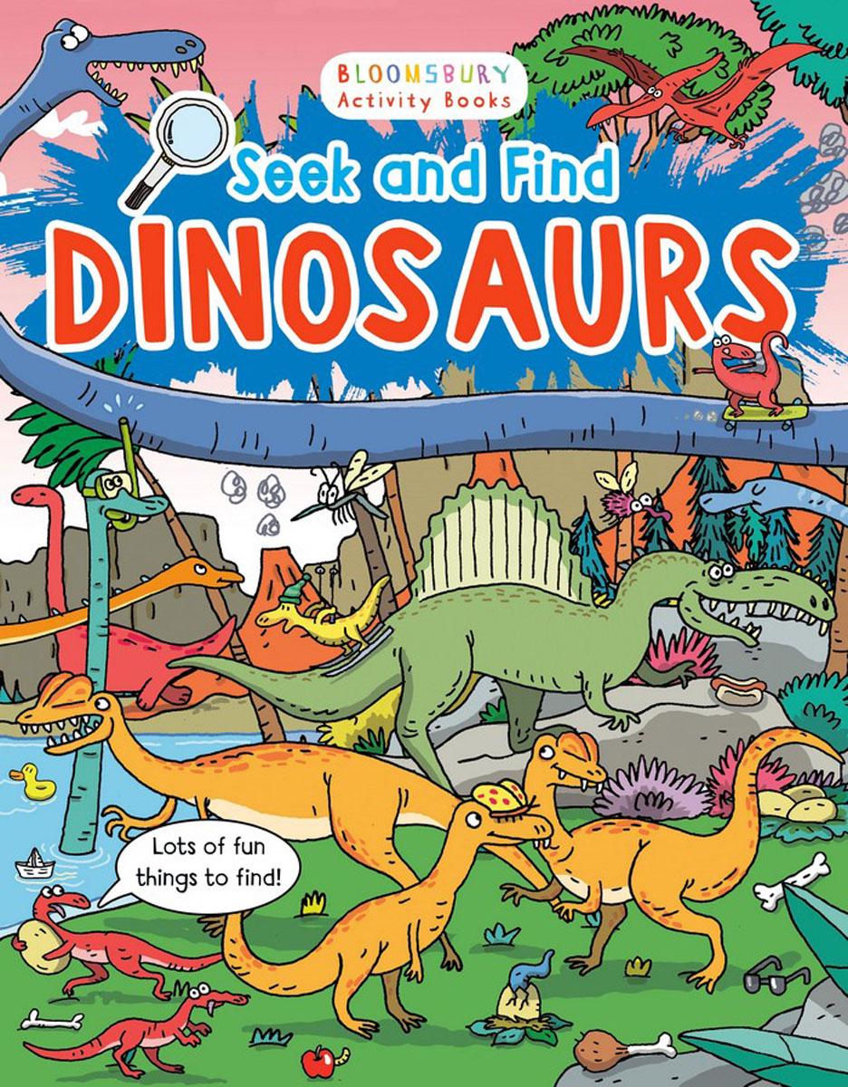 Seek and Find Dinosaurs seek thermal