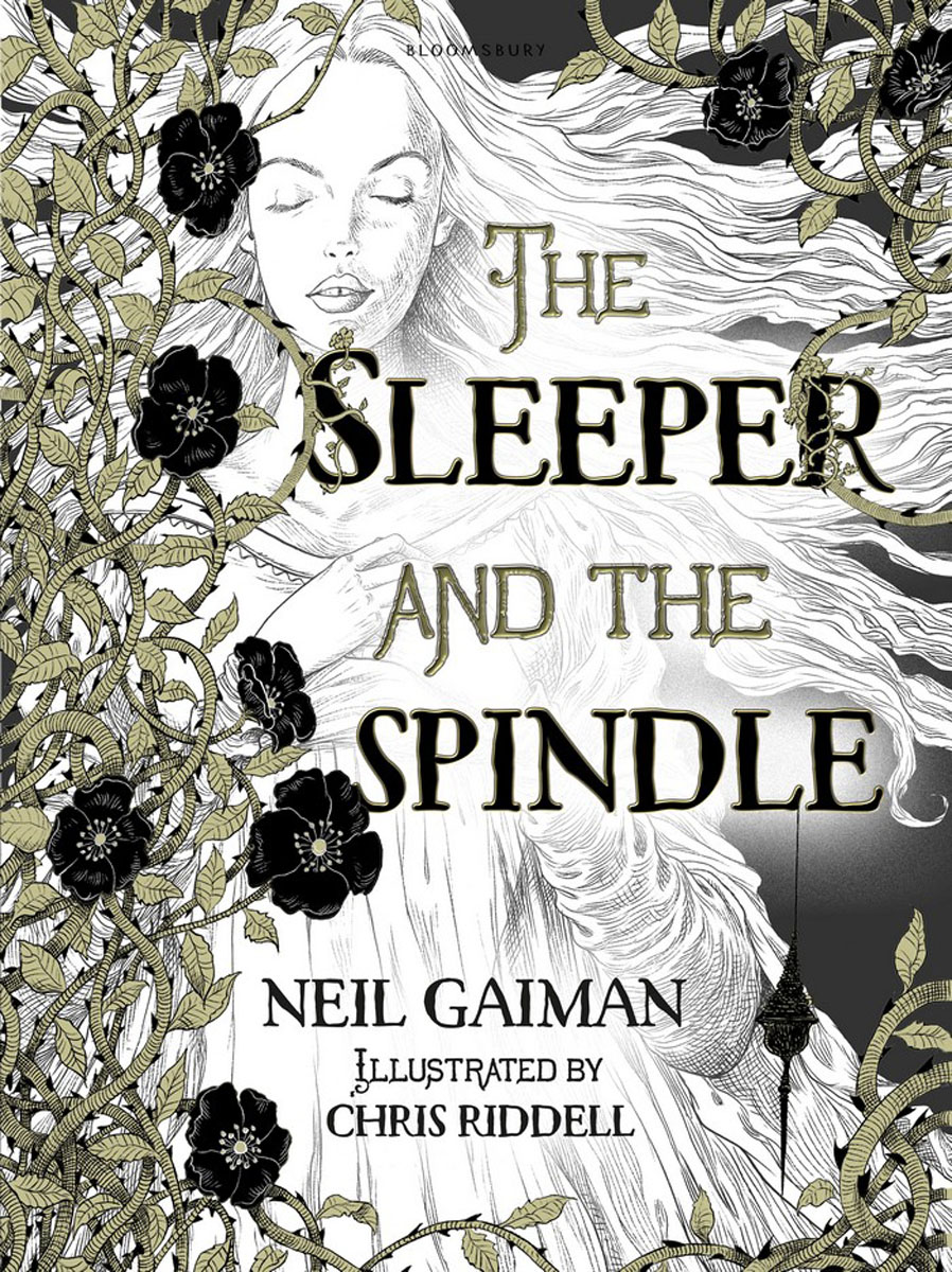 The Sleeper and the Spindle neil barrett футболка