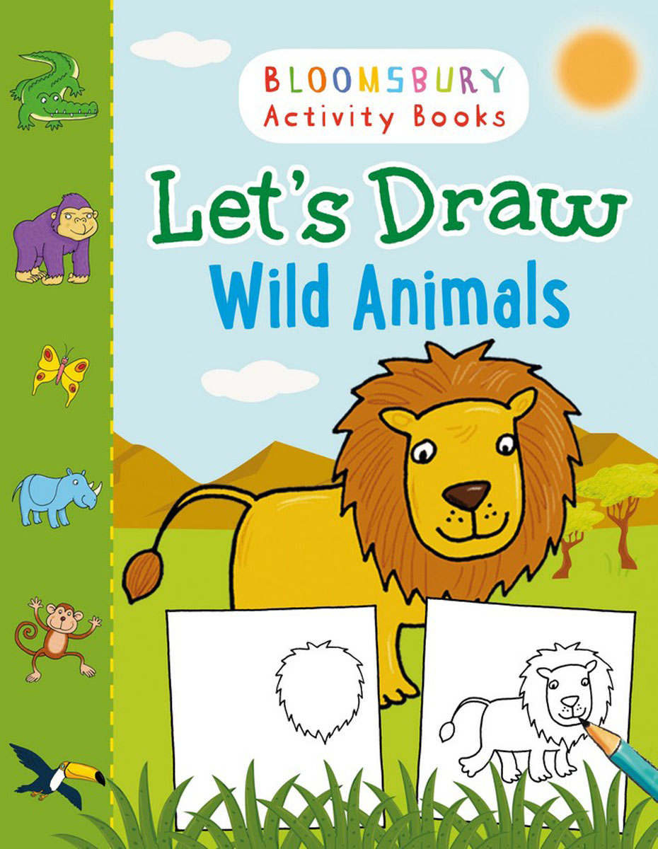 Let's Draw Wild Animals how to draw fairies and mermaids