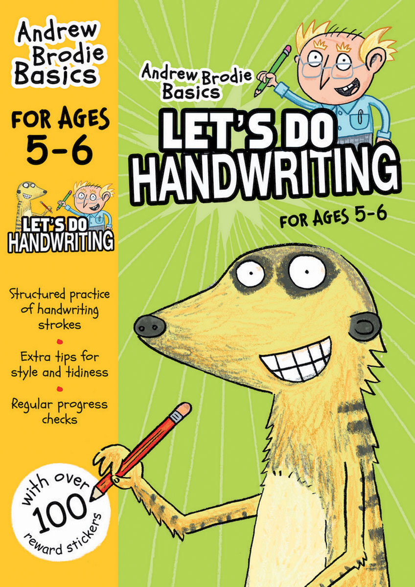 Let's do Handwriting 5-6 the ninth step