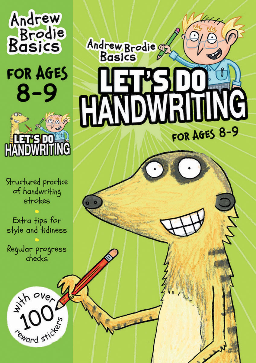 Let's do Handwriting 8-9 the ninth step