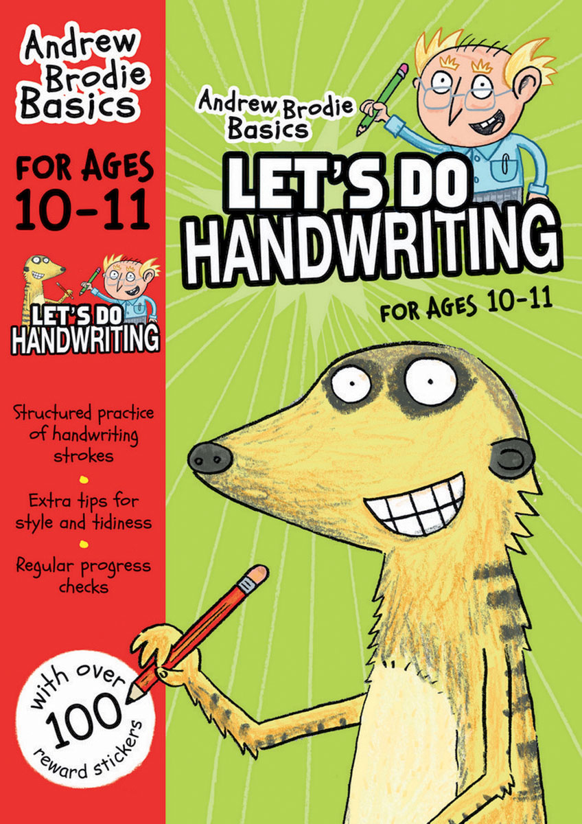 Let's do Handwriting 10-11 the ninth step
