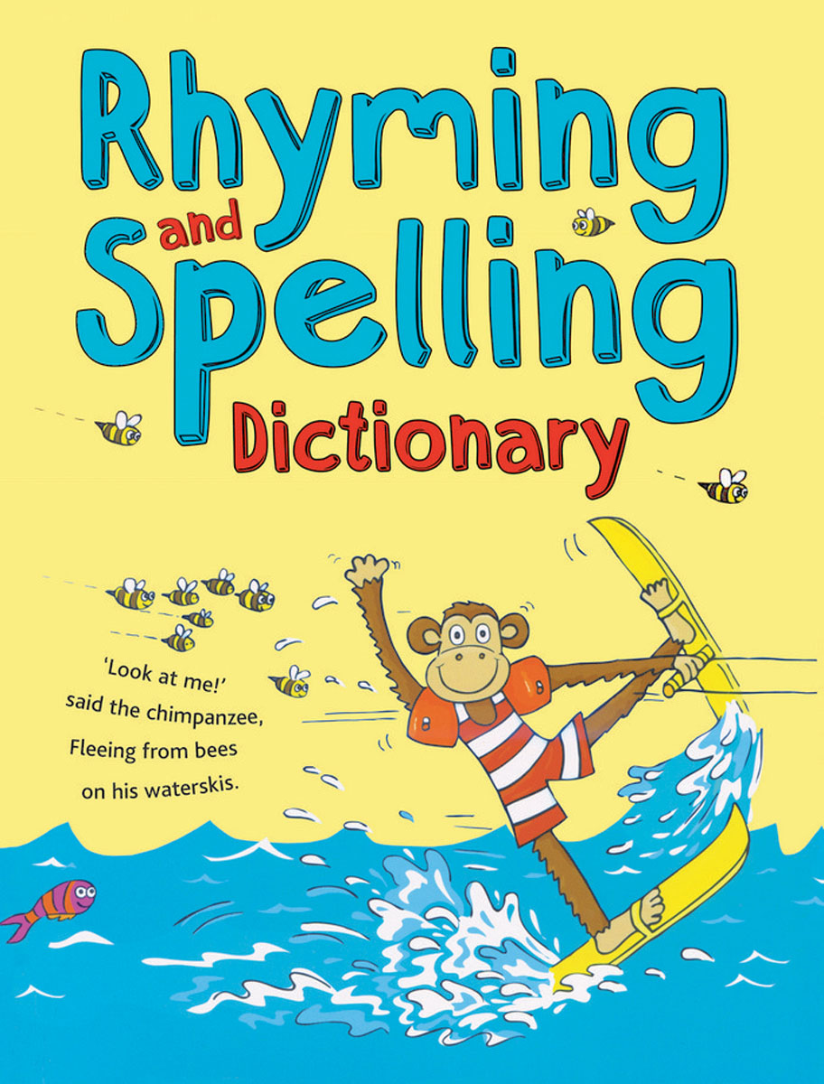 Rhyming and Spelling Dictionary includes