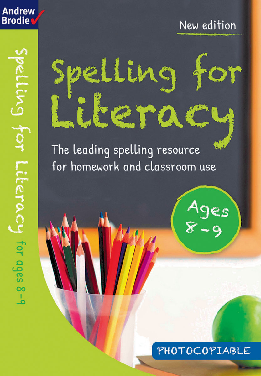 Spelling for Literacy for ages 8-9 reading literacy for adolescents