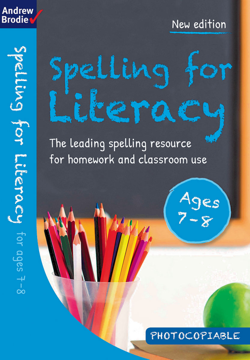 Spelling for Literacy for ages 7-8 reading literacy for adolescents