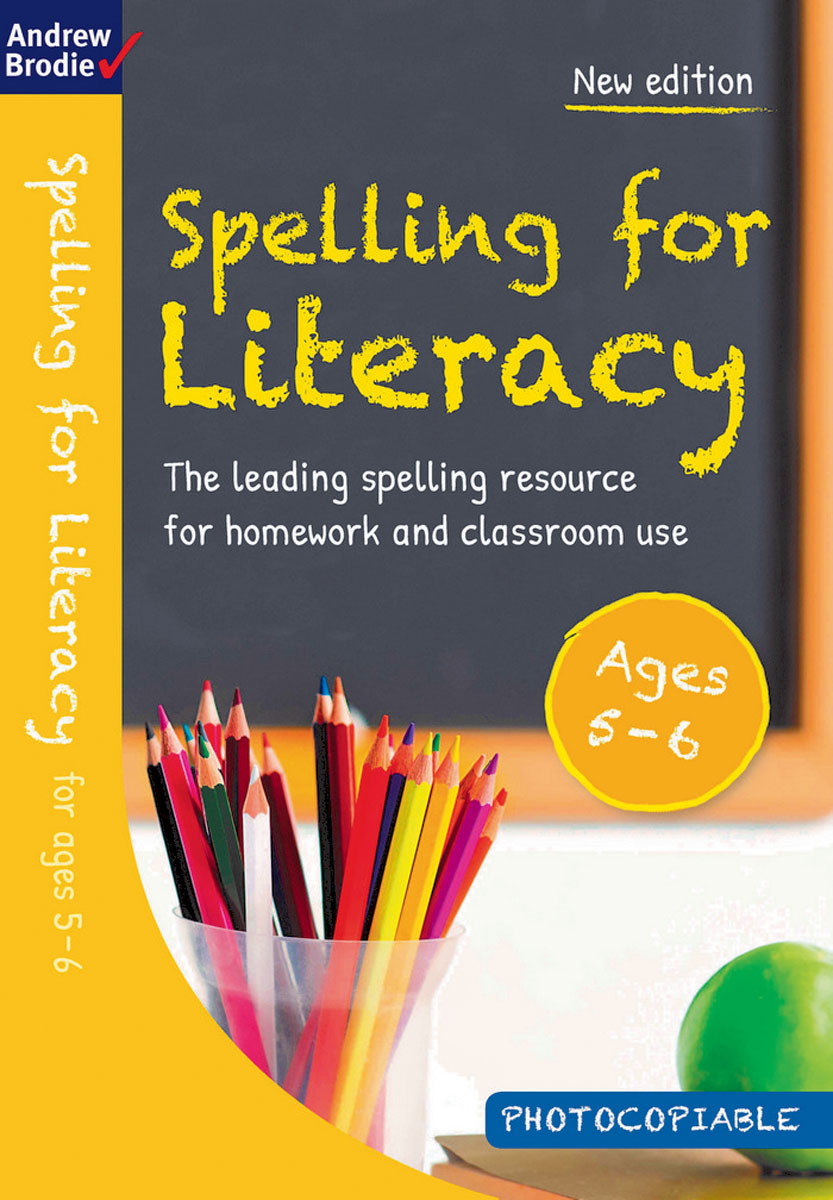 Spelling for Literacy for ages 5-6 reading literacy for adolescents