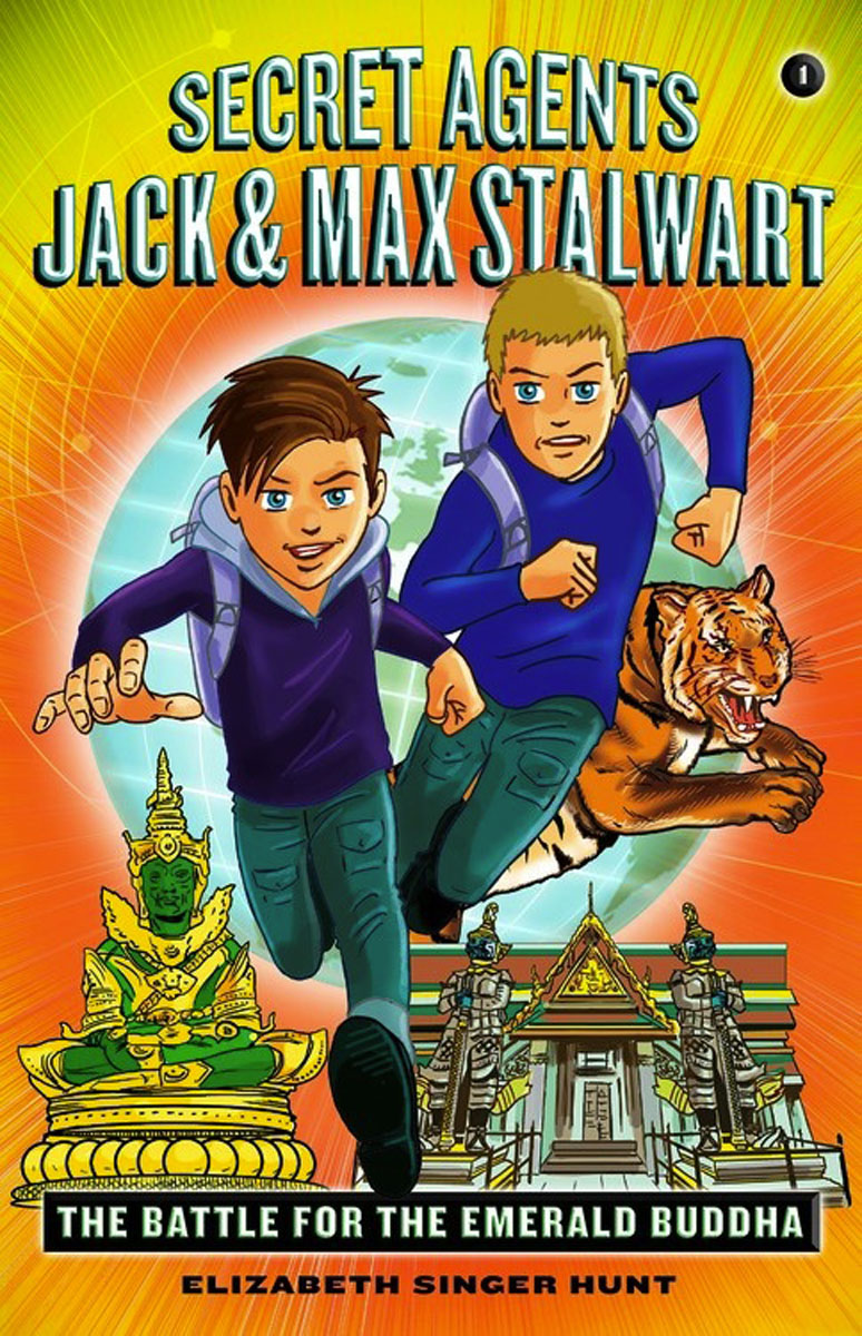 Secret Agents Jack and Max Stalwart Book 1: The Battle for the Emerald Buddha the buddha in the attic