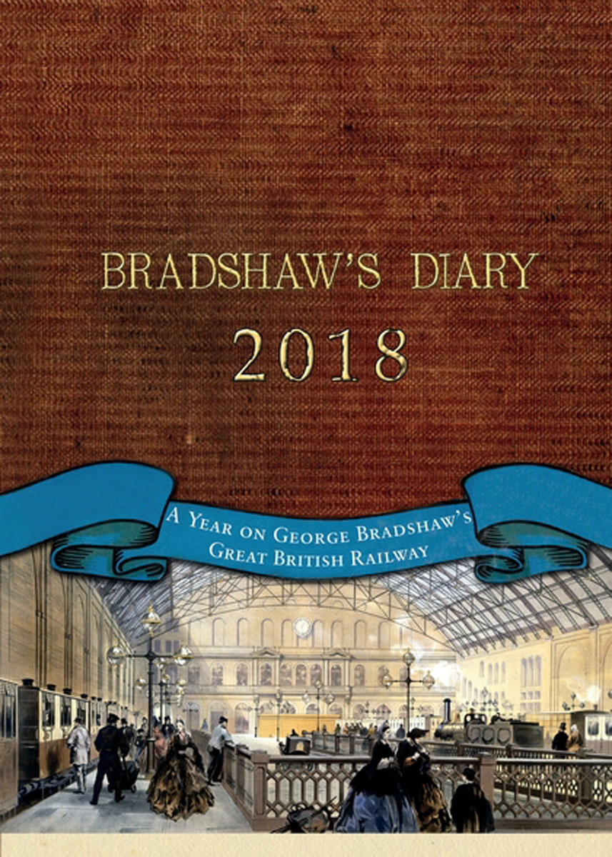 Bradshaw's Diary 2018 1pcs lot vintage memory life quality diary handcover notebook kraft inner page gift diary book retro journal agenda school