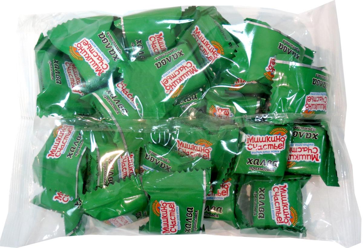Мишкино счастье конфеты халва арахисовая, 500 гЕА0500МТающая во рту конфета из арахиса. Конфеты в удобной упаковке.