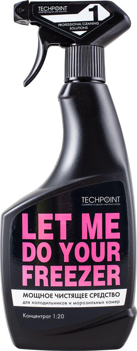 Средство Techpoint Powerclean для очистки холодильников и морозильных камер, 500 мл поглотитель запаха для холодильников selena