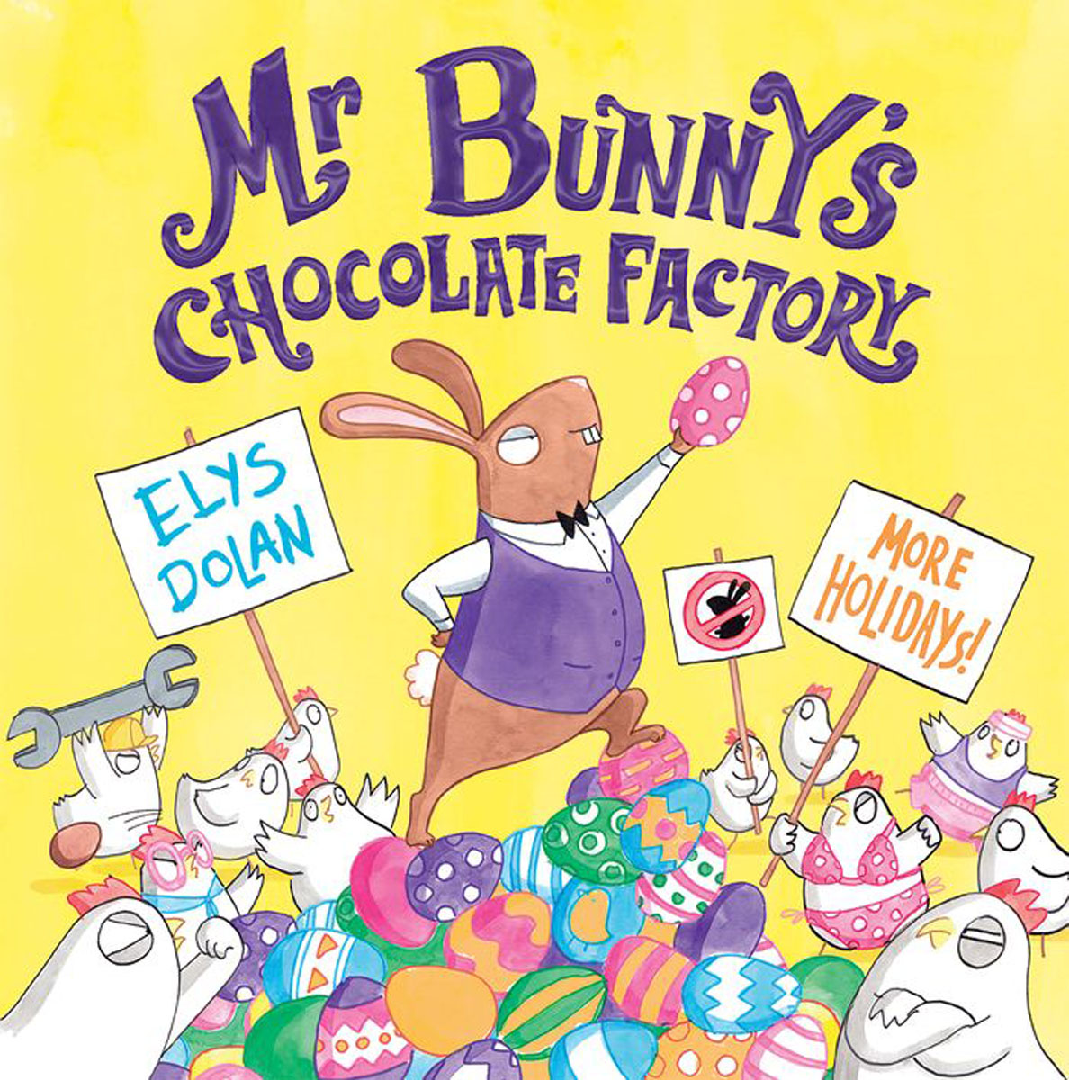 Mr Bunny's Chocolate Factory irresistible