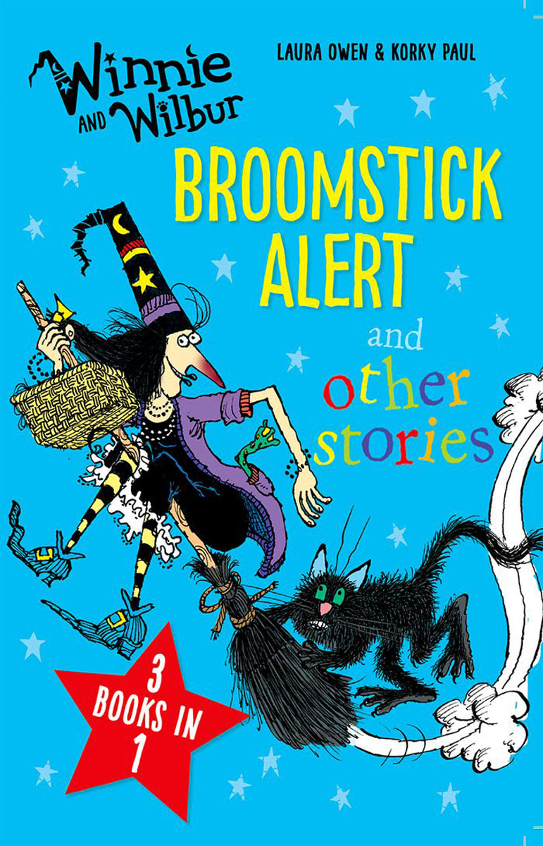 Winnie and Wilbur: Broomstick Alert and other stories wilbur smith monsoon