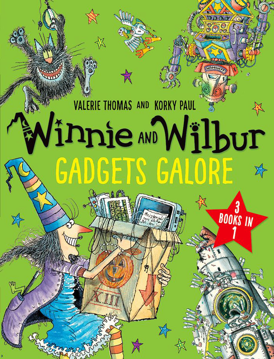 Winnie and Wilbur: Gadgets Galore and other stories wilbur smith monsoon