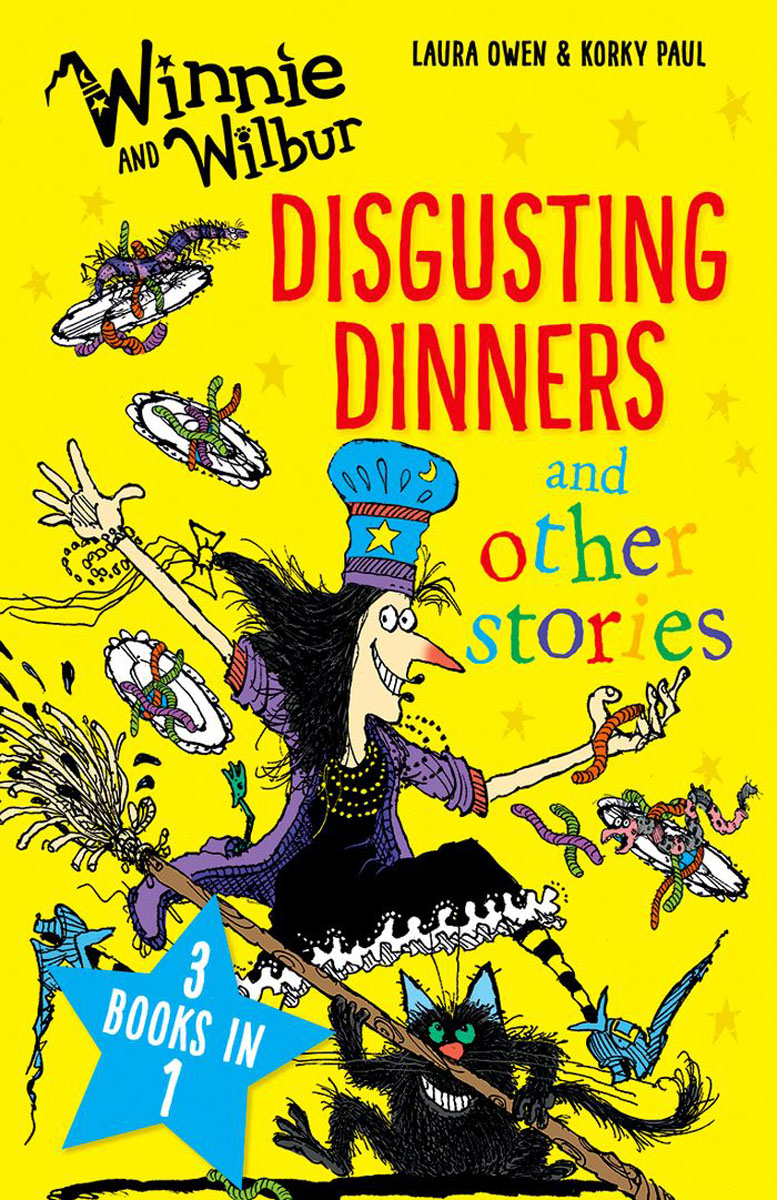 Winnie and Wilbur: Disgusting Dinners and other stories wilbur smith monsoon