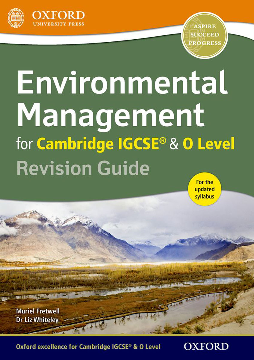 Environmental Management for Cambridge IGCSE & O Level Revision Guide сумка the cambridge satchel