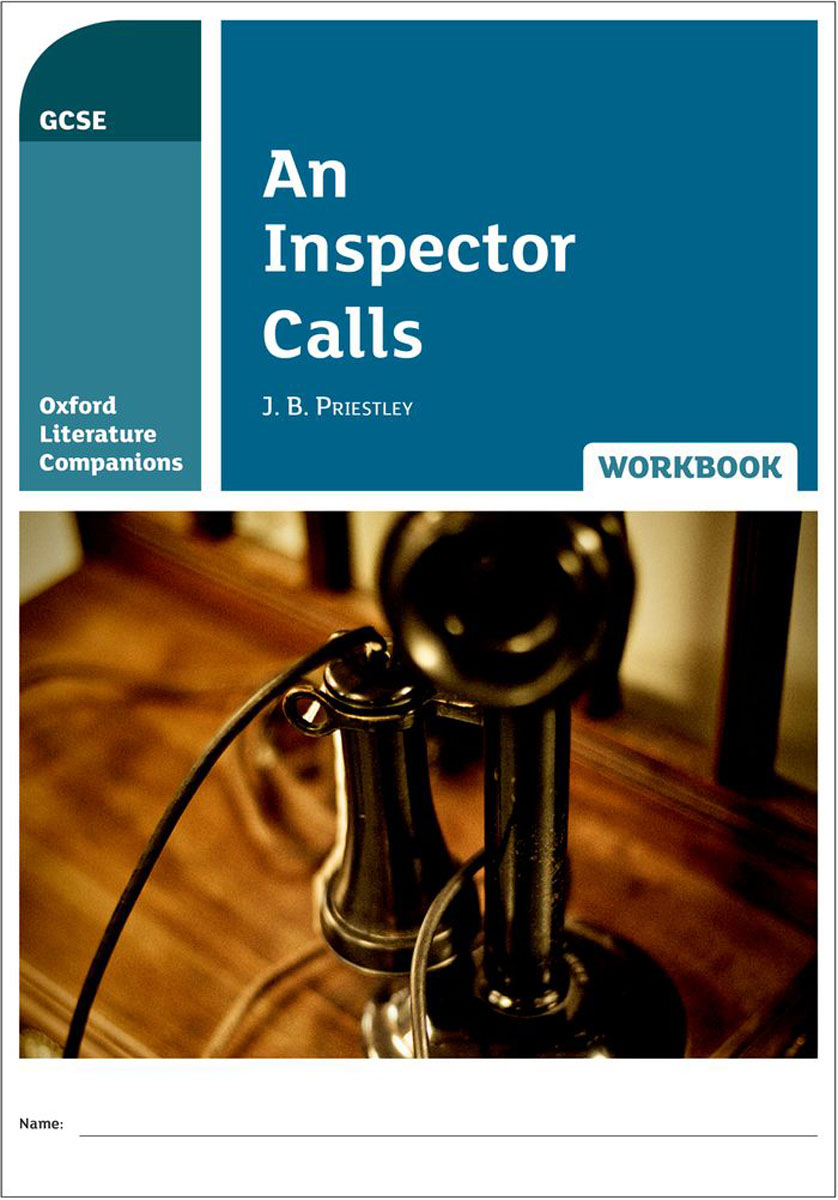 Oxford Literature Companions: An Inspector Calls Workbook objective pet workbook with answers