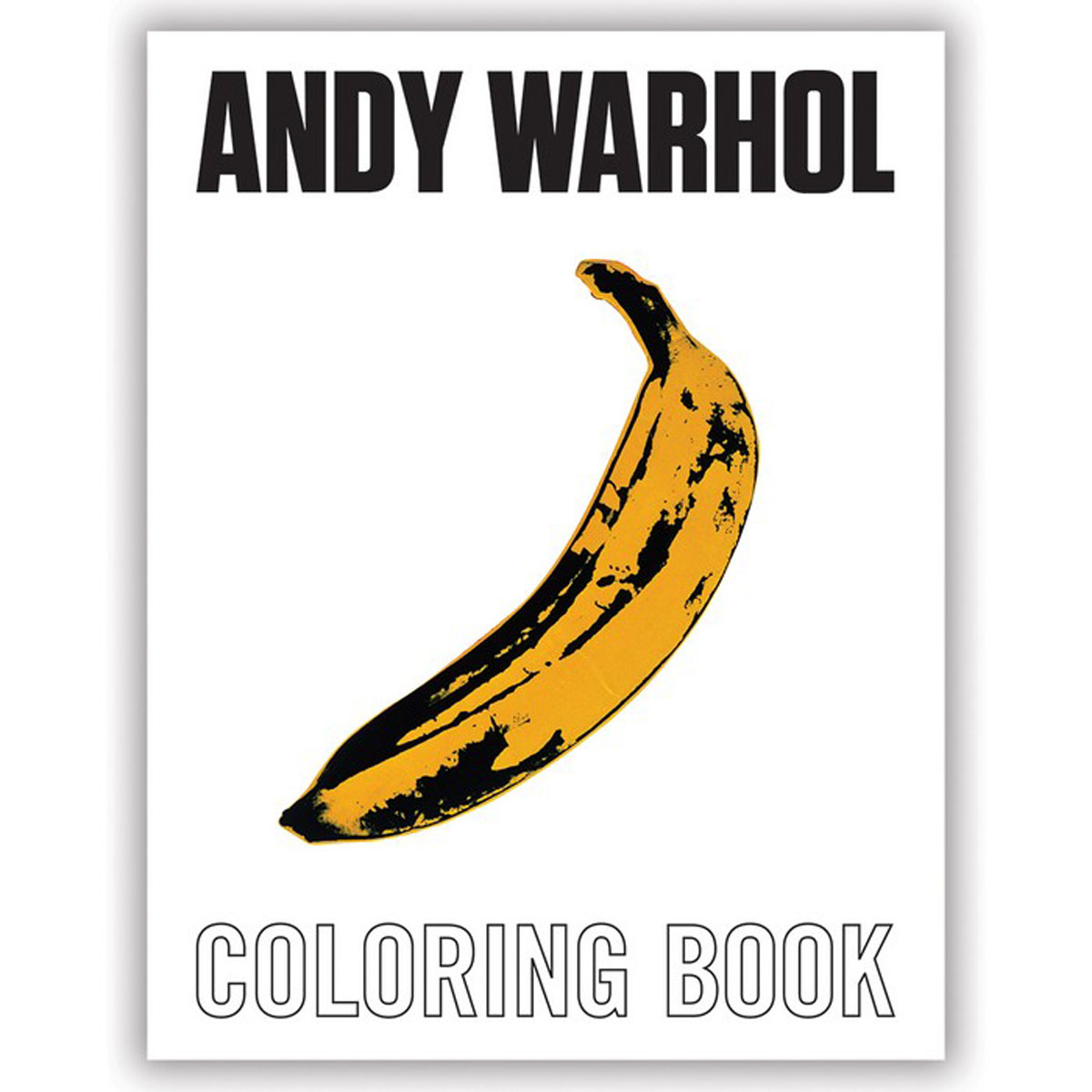 Andy Warhol Coloring Book купить