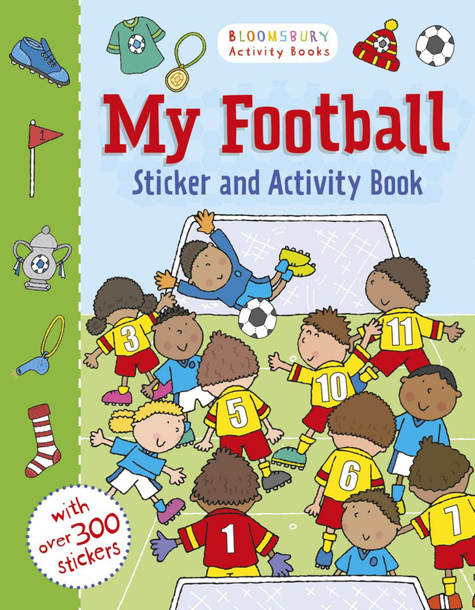 My Football Activity and Sticker Book my baby animals sticker activity book