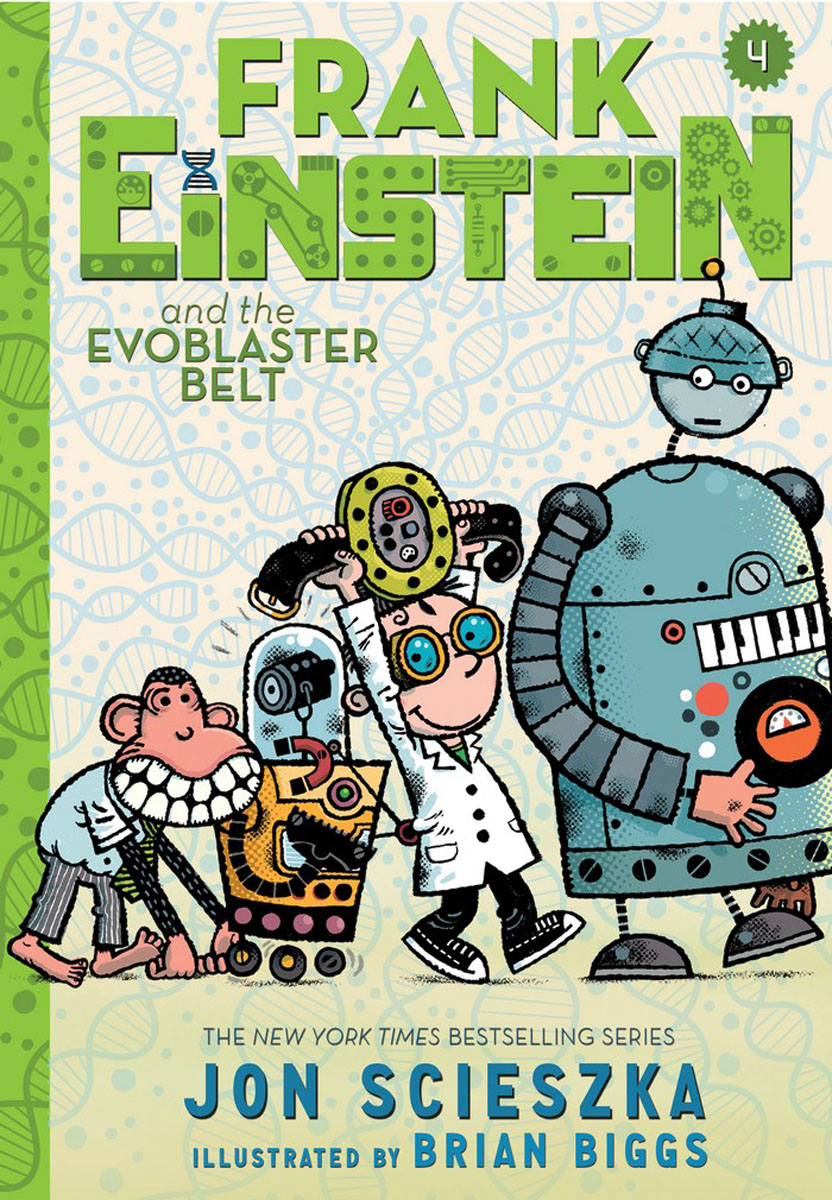 Frank Einstein and the EvoBlaster Belt (Frank Einstein series #4) te0192 garner 2005 international year of physics einstein 5 new stamps 0405