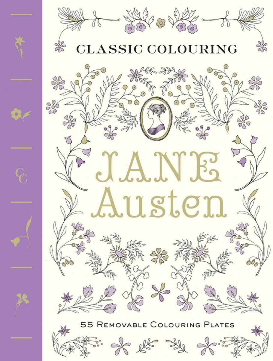 Classic Colouring: Jane Austen (Adult Colouring Book) austen j sense and sensibility level 2 cd