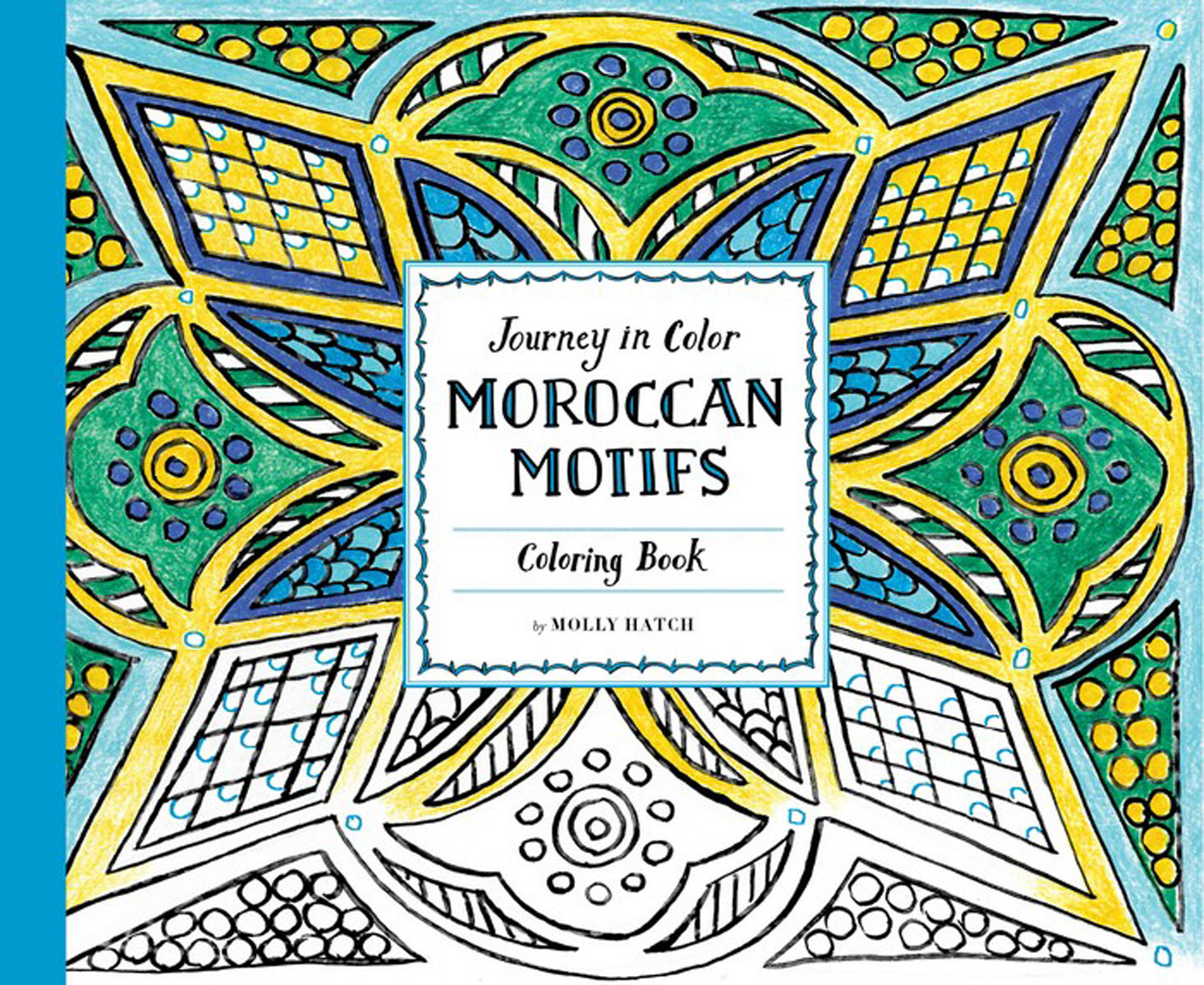 Journey in Color: Moroccan Motifs Coloring Book found in brooklyn