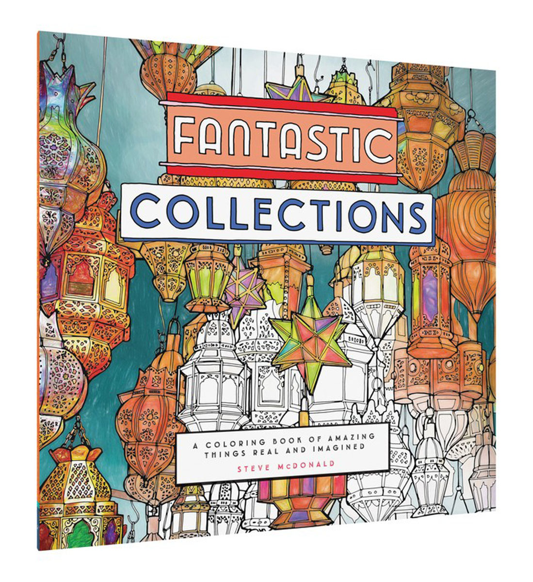Fantastic Collections fantastic cities a coloring book of amazing places real and imagined