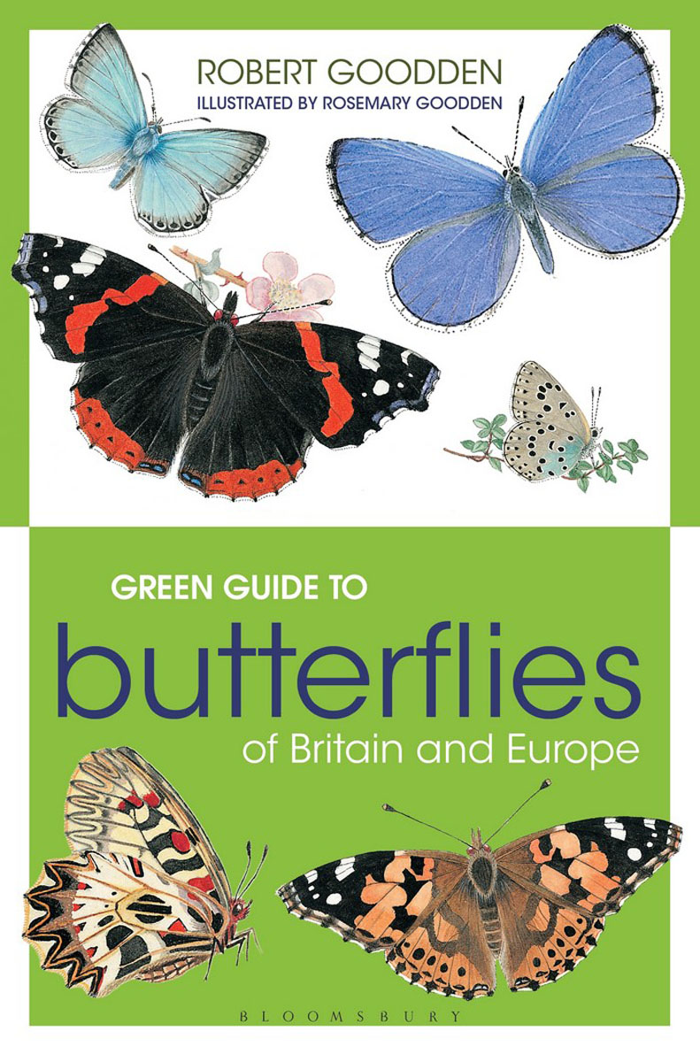 Green Guide to Butterflies Of Britain And Europe butterflies in the barley