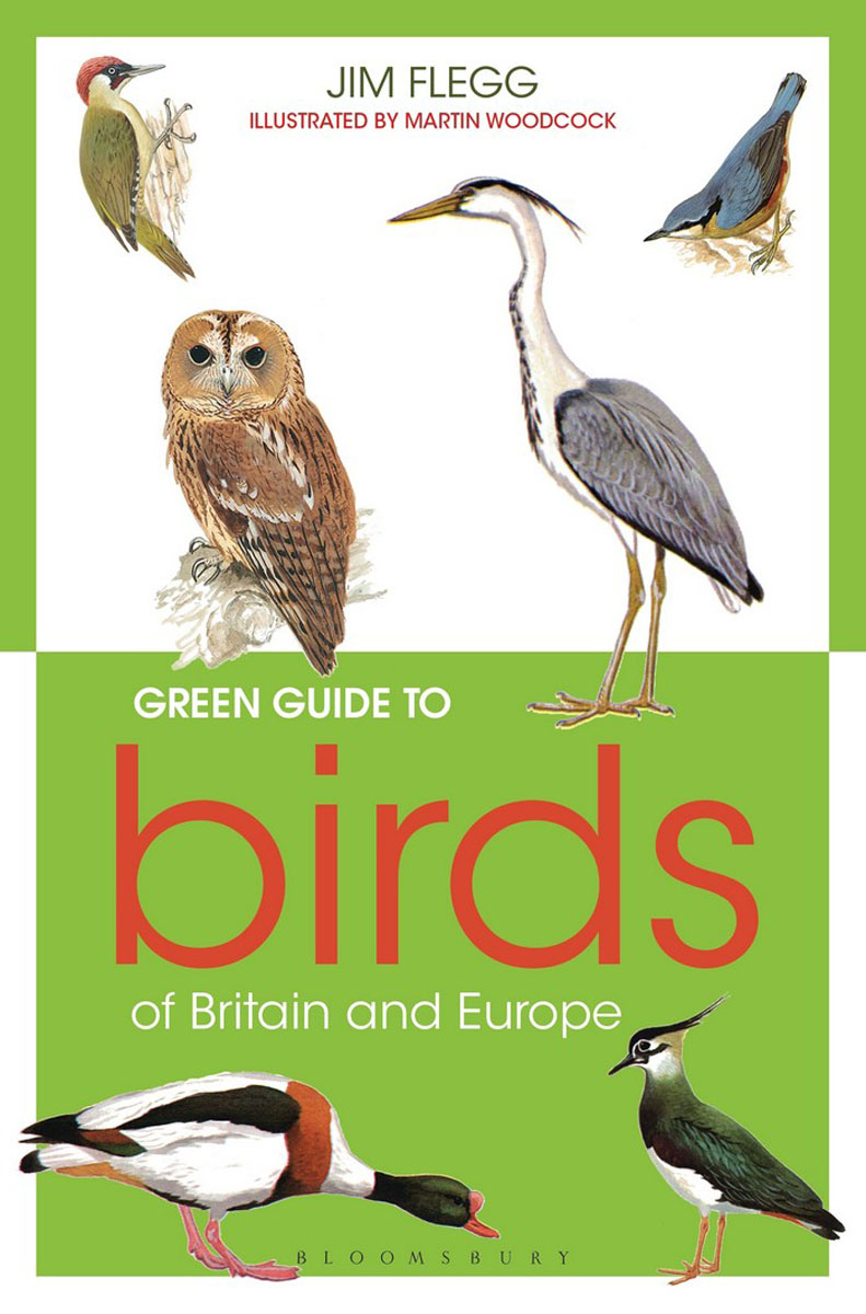 Green Guide to Birds Of Britain And Europe pocket photo guide to the birds of china