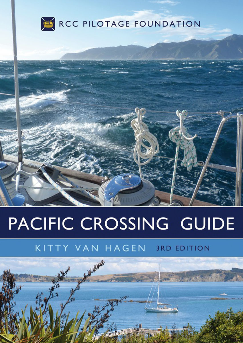 The Pacific Crossing Guide girl on the boat