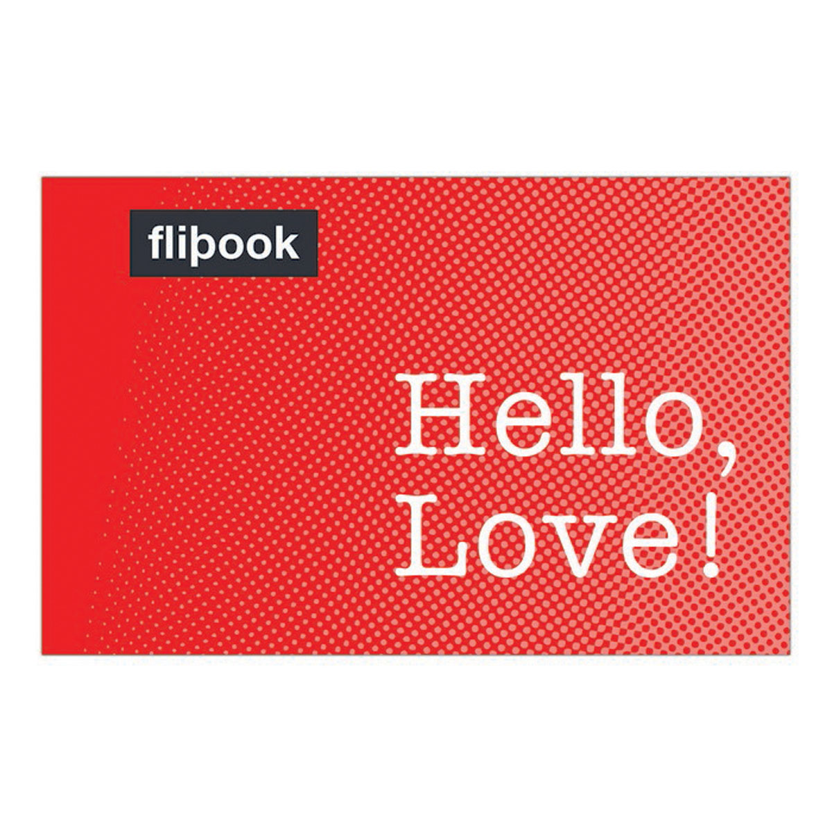 Knock Knock Hello, Love! Flipbook i take you uab cd