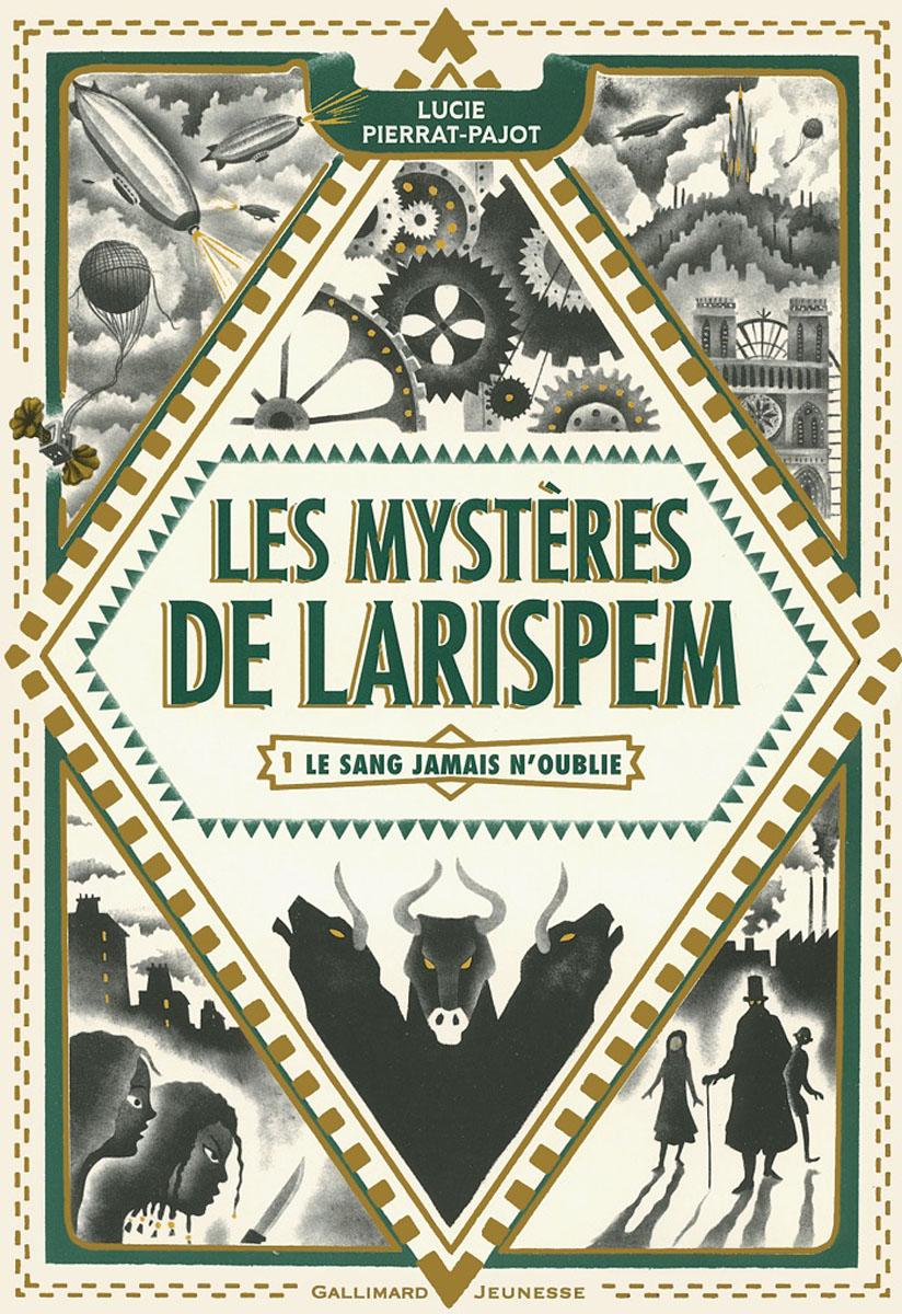 Les mysteres de Larispem - Le sang jamais n'oublie cite marilou